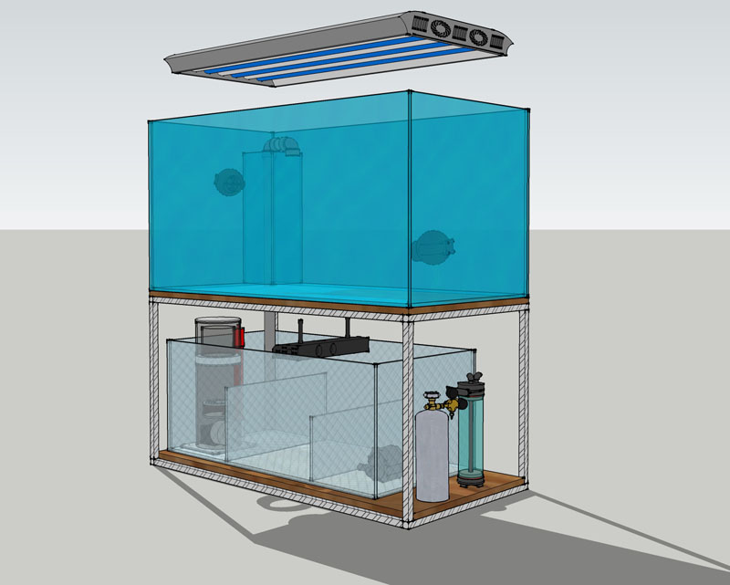 jurinio akvariumo gamyba